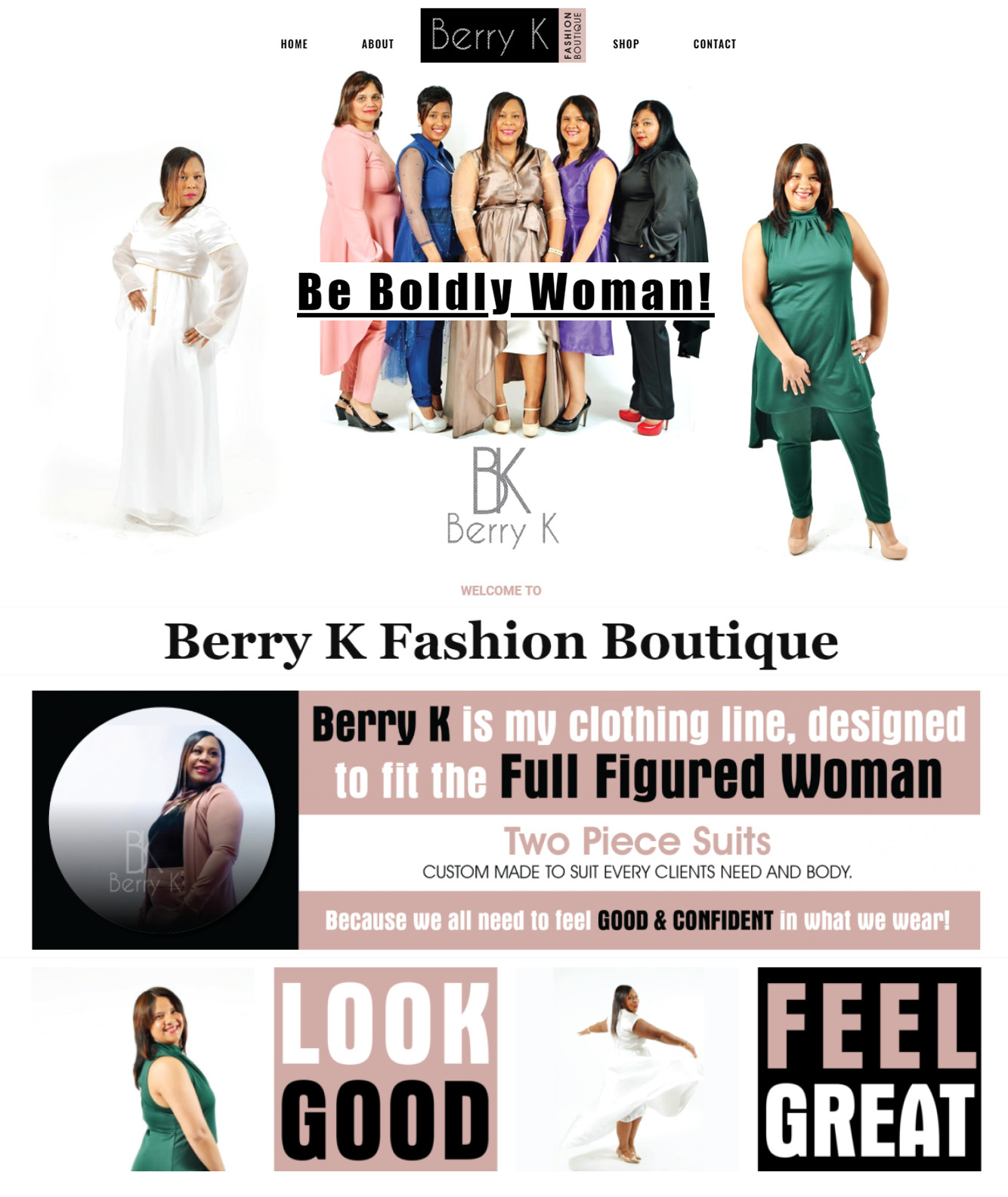 Berry K Website Design