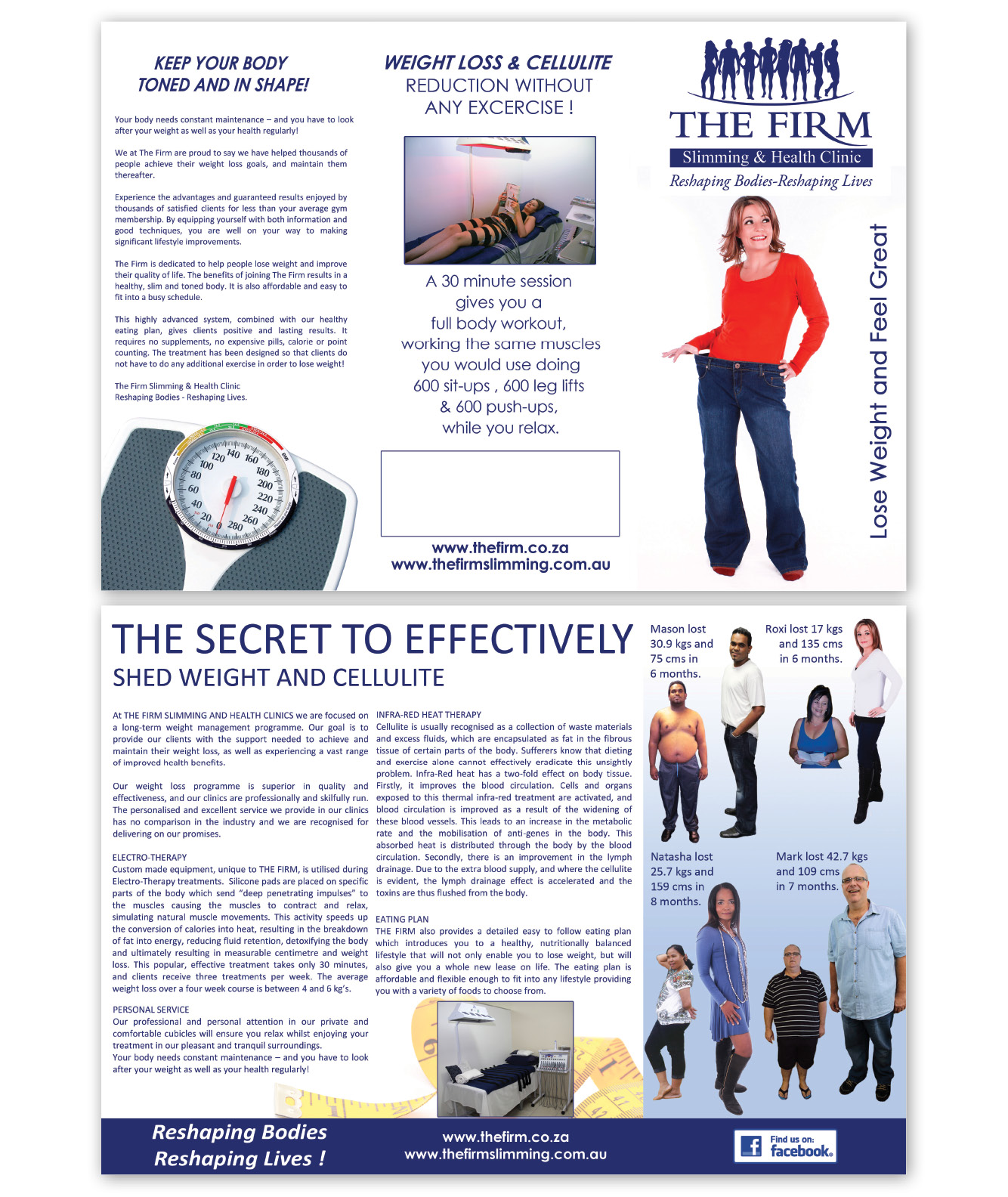 The Firm South Africa - 3 Fold Brochure