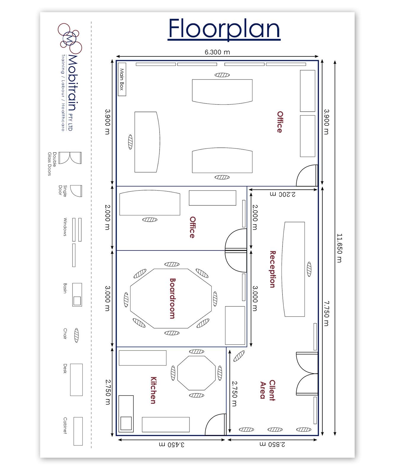 Mobitrain Floorplan