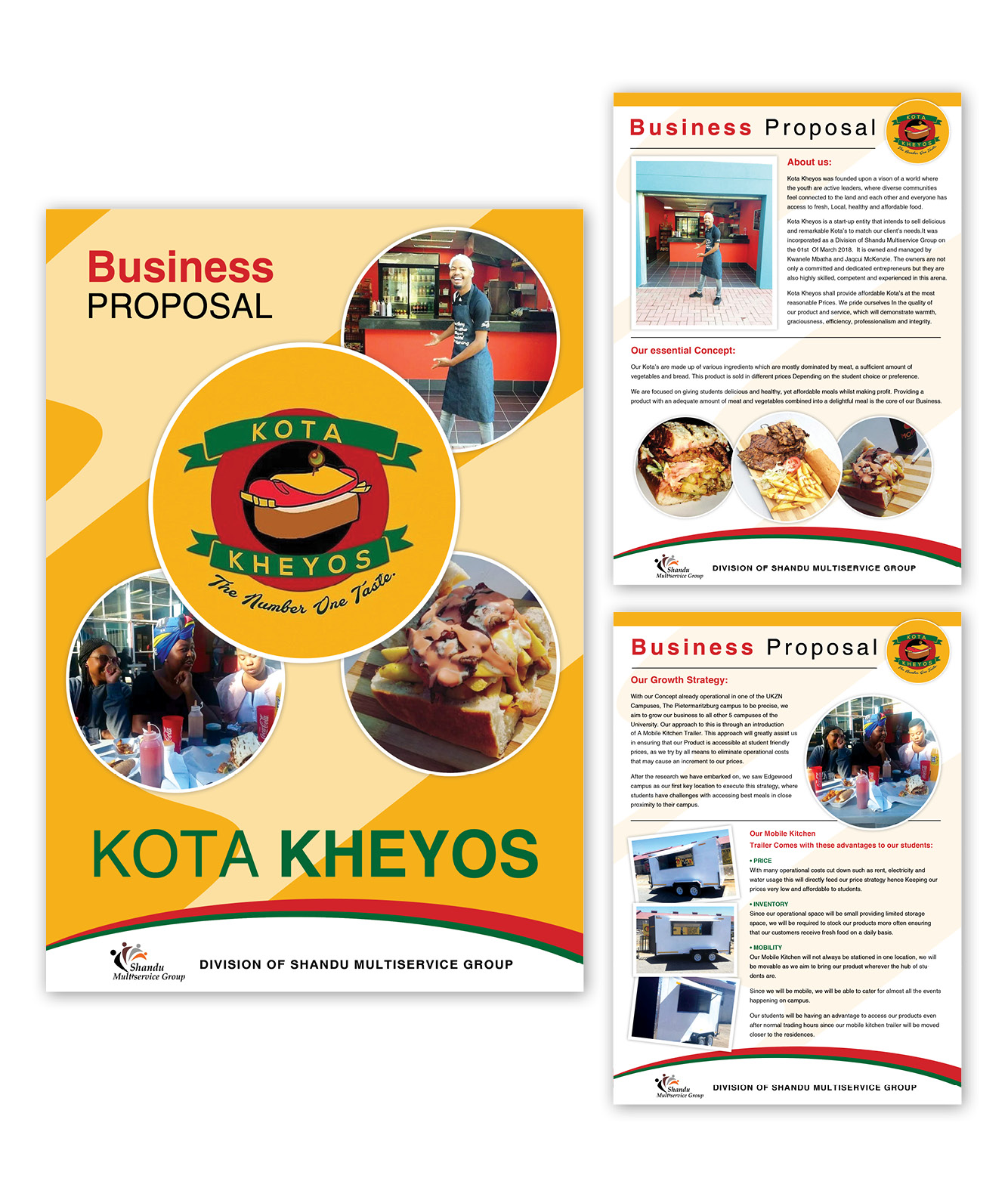 Kota Kheyos Business Proposal Design