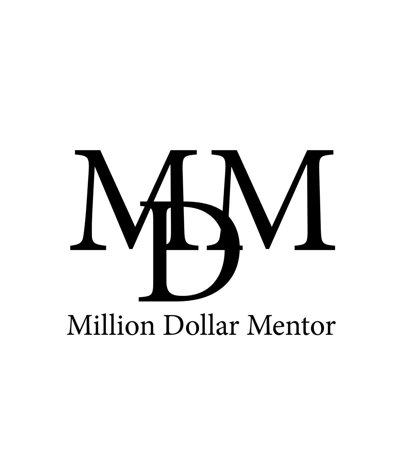 Million Dollar Mentor Logo Design