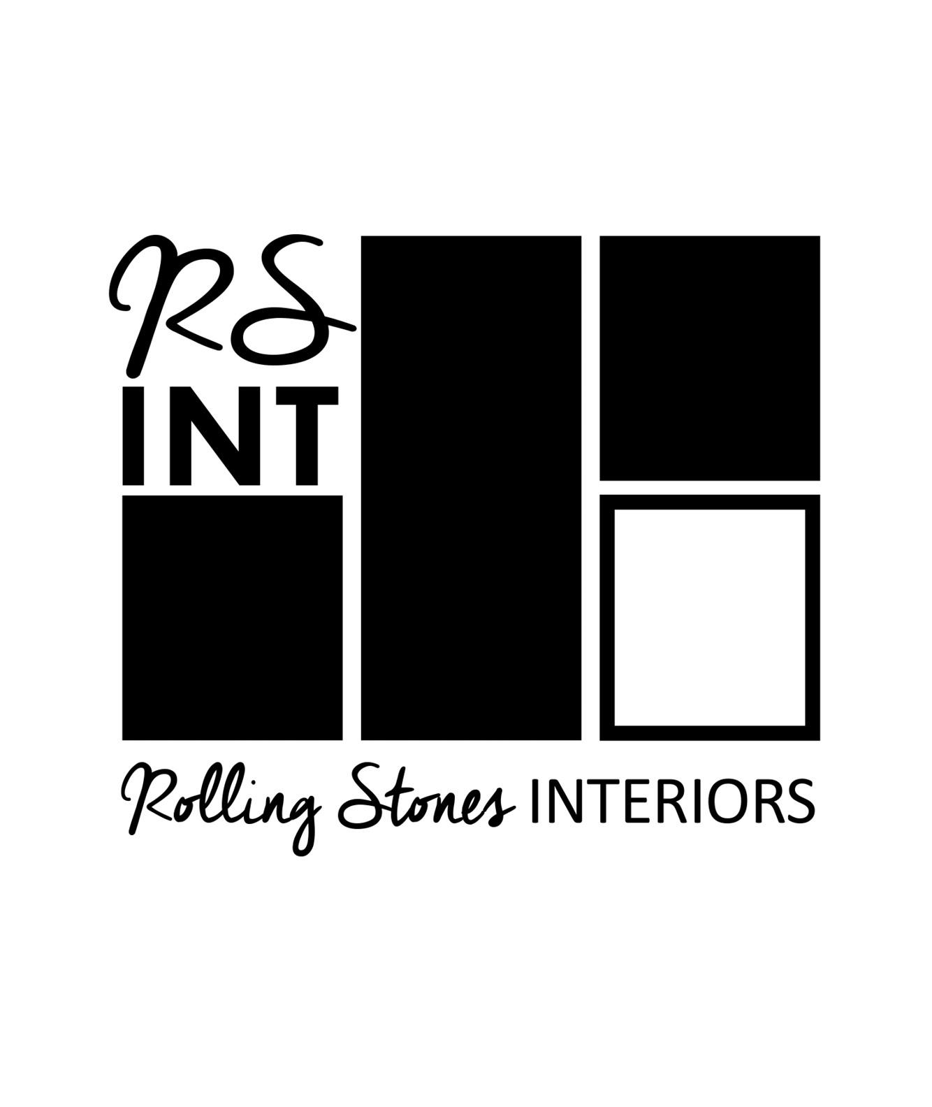Rolling Stones Interiors Logo Design