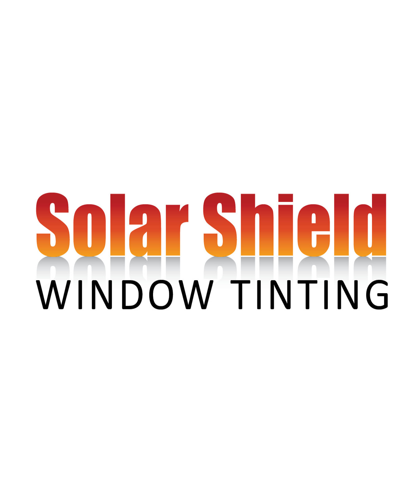 Solar Shield Window Tinting Logo Design