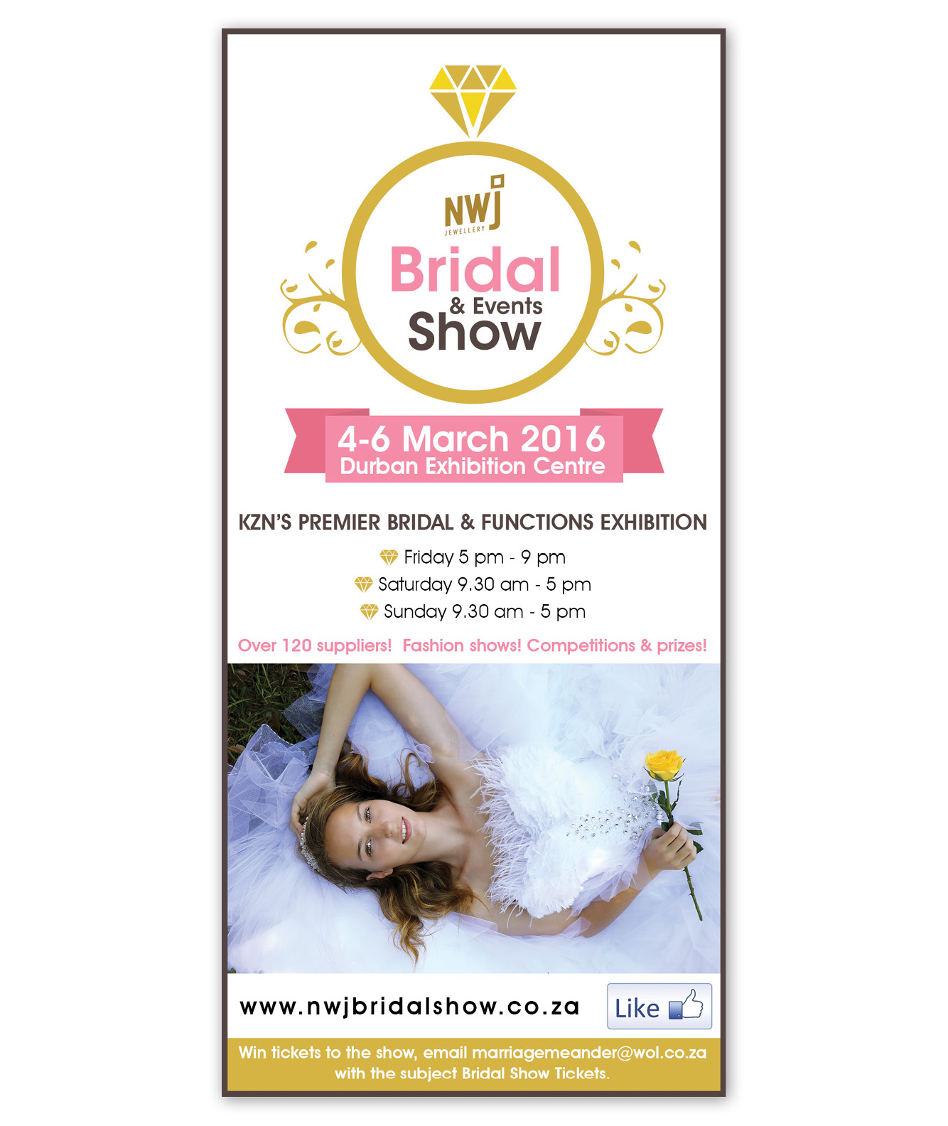 NWJ Bridal and Events Show Banner