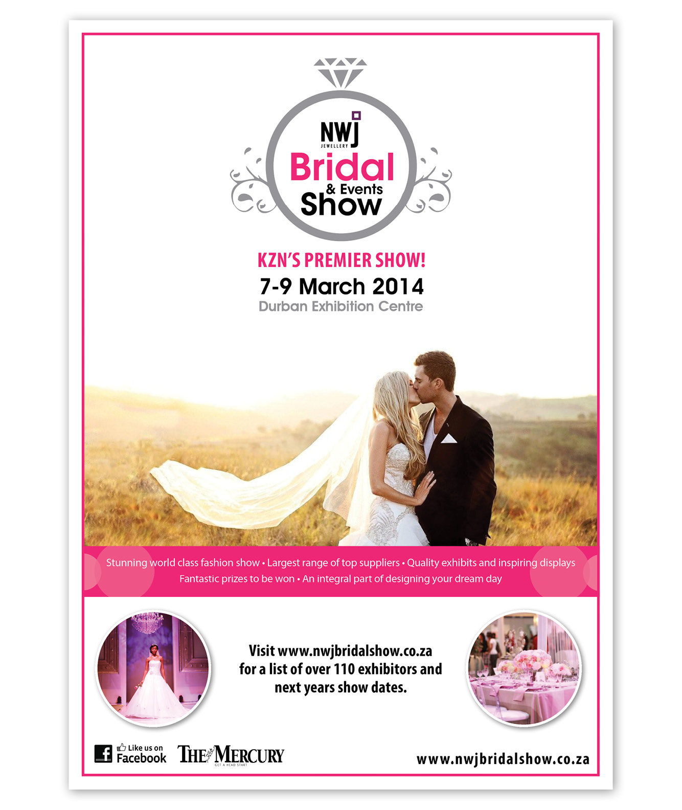 NWJ Bridal and Events Show Poster