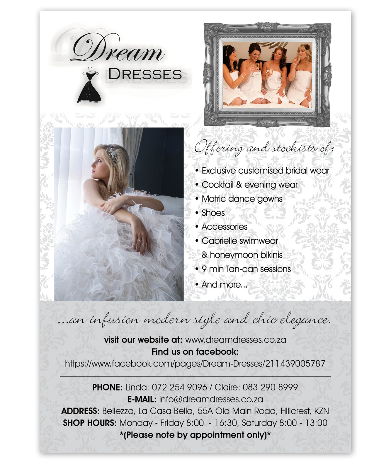 Dream Dresses Flyer Design